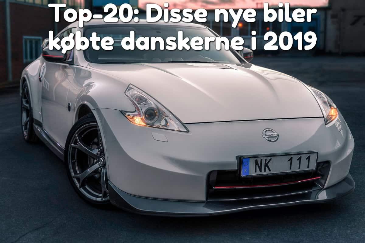 Top-20: Disse nye biler købte danskerne i 2019